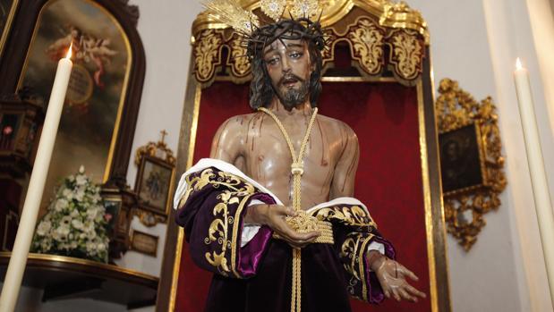 El Cristo de la Humildad regresa tras su restauración