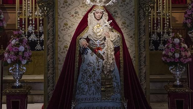 Besamanos de la Virgen del Rocío y Lágrimas