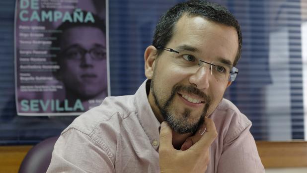 el que fuera número 3 de Podemos a nivel nacional, Sergio Pascual