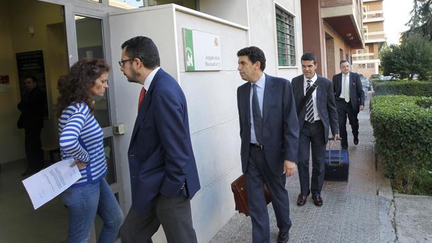 Fachada del Juzgado de lo Mercantil en Córdoba