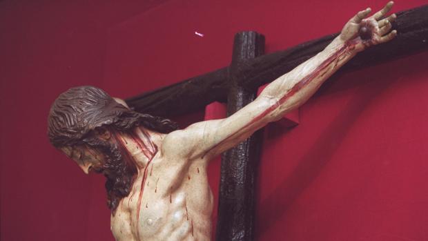 Exposición «Y murió en la Cruz», celebrada en 2001