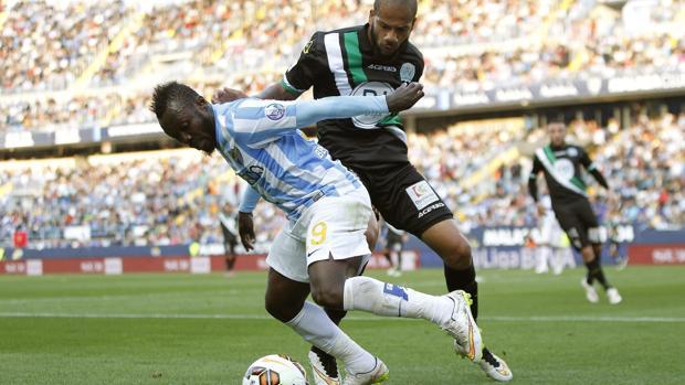 Córdoba y Málaga, en el último partido oficial que disputaron en marzo de 2015