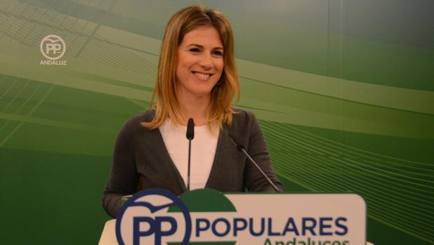 La vicesecretaria del PP andaluz, Ana Mestre