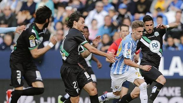 Último duelo en Primera disputado entre Córdoba y Málaga
