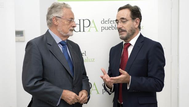 El Defensor del Pueblo andaluz y el consejero de Fomento, este lunes