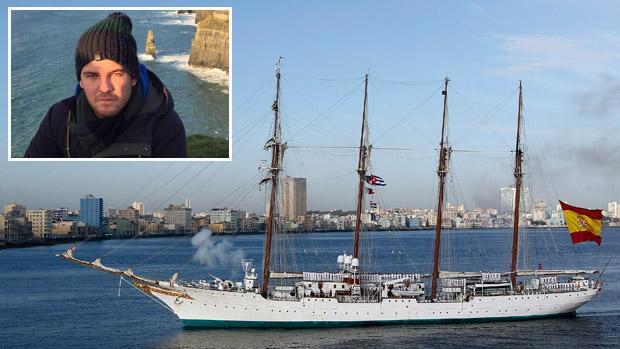 Alberto Mora, el granadino de 29 años fallecido mientras formaba parte de la tripulación del Juan Sebastián Elcano