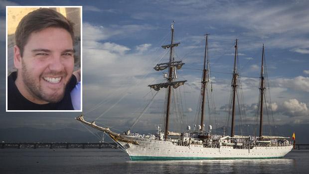 Alberto Morales, el marinero granadino fallecido mientras navegaba en el buque escuela Juan Sebastián de Elcano