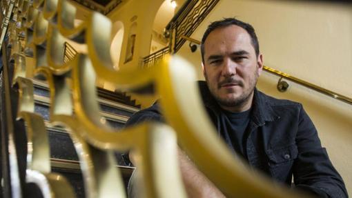 Ismael Serrano, durante una entrevista