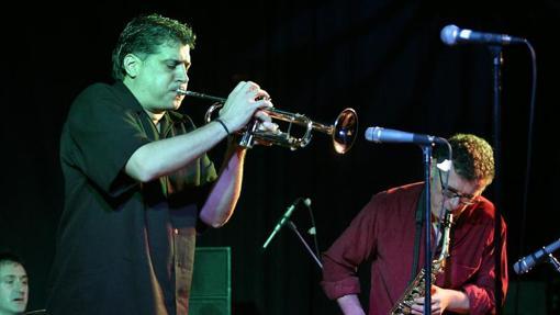 Un trompetista durante una de las sesiones pasadas