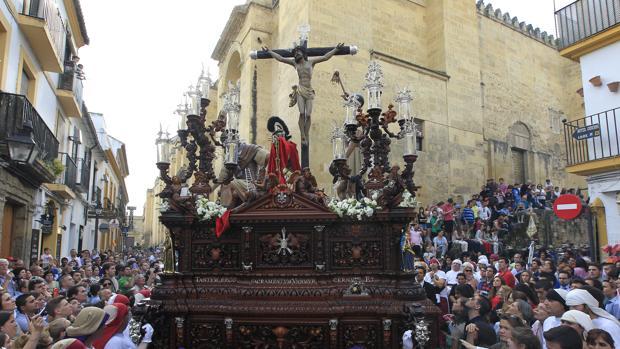 El Cristo de la Agonía, en el cruce de Cardenal González