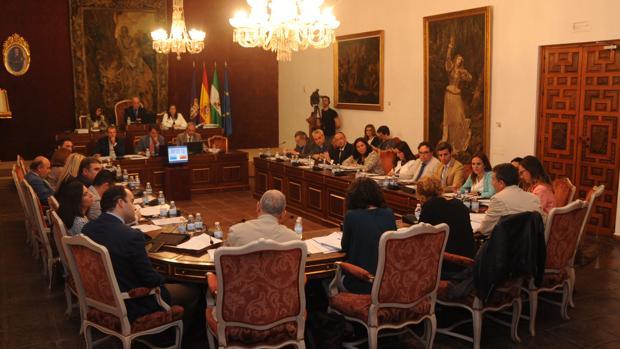 Sesión plenaria del martes en la Diputación de Córdoba
