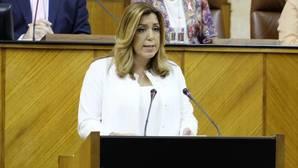 Susana Díaz pide una «conjura» para expulsar a corruptos y admite errores de «todos»