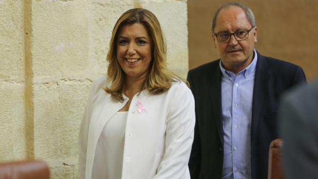 La presidenta andaluza Susana Díaz ha anunciado la creación de 5.500 plazas de empleo público