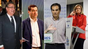 Nombres andaluces para el futuro Gobierno de Mariano Rajoy