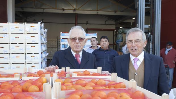 Los responsables del Banco de Alimentos de Córdoba