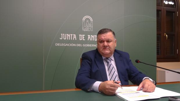 Francisco Zurera durante la presentación esta mañana del aforo de campaña de aceite de oliva