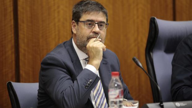 Antonio López, presidente de la Cámara de Cuentas de Andalucía