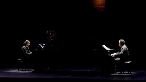 Un instante del concierto del festival Rafael Orozco