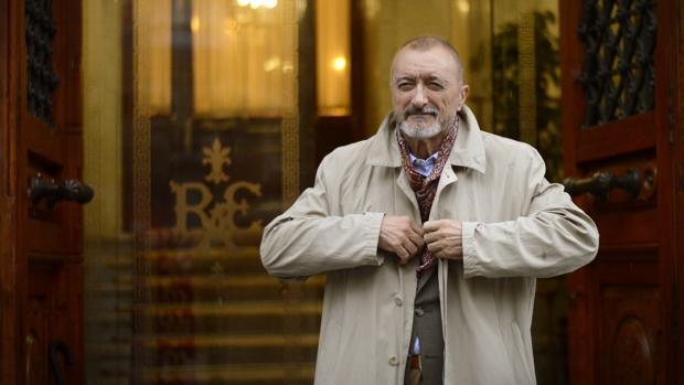 Arturo Pérez-Reverte, en la presentación de su último libro