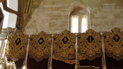 Bambalinas laterales de la Candelaria