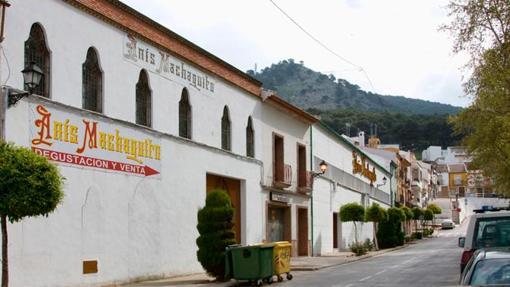 Fábrica de Anís Machaquito, en Rute