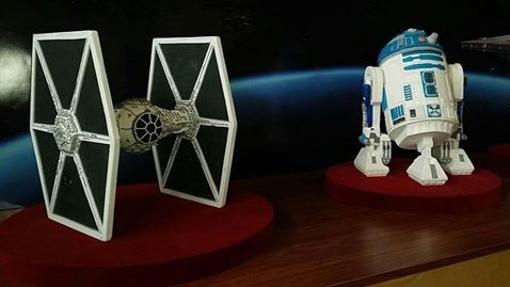Los personajes de Star Wars, hechos de azúcar