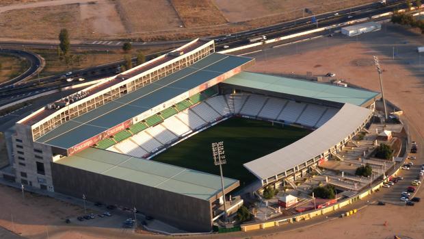 Imagen del estadio municipal El Arcángel, que cumple 23 años