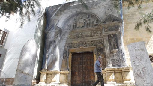 Fahcada de la sede antigua del Museo Arqueológico, ahora cerrada