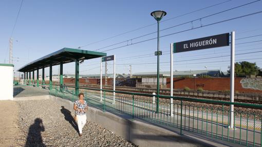 Estación de El Higuerón, una de las afectadas