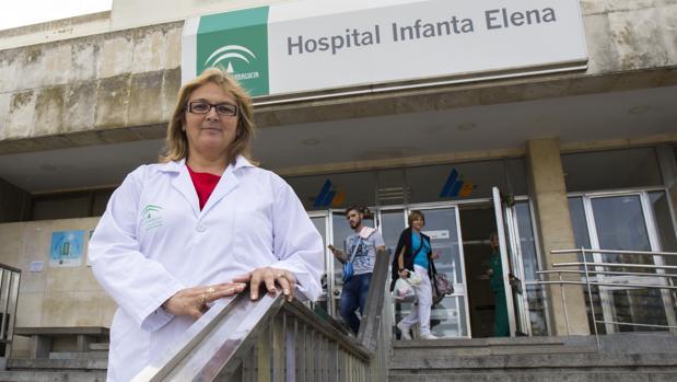 La doctora Paloma Hergueta, una de las promotoras de la manifestación