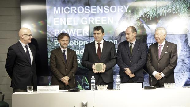 Entrega de los premios a las mejores ideas para salvar la naturaleza, en la Fundación Caja Rural del Sur
