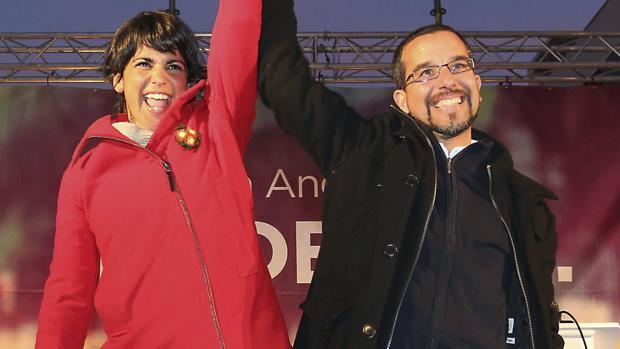 Teresa Rodríguez y Sergio Pascual se enzarzan en Twitter en plena votación de primarias en Podemos Andalucía