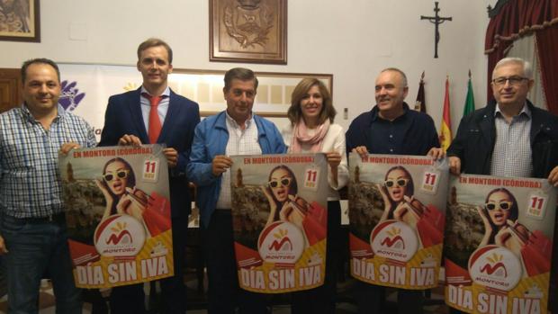 Presentación de la campaña del día sin IVA en los comercios de Montoro