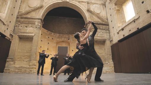 El cuarteto y los bailres, en un espectáculo
