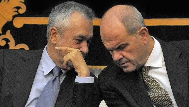Los dos expresidentes de la Junta en una foto de archivo