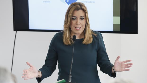 Susana Díaz en una intervención reciente
