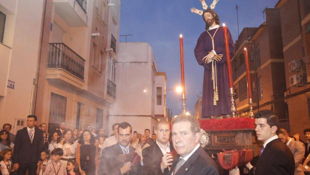 Juan Rodríguez, ante el Señor de la Redención