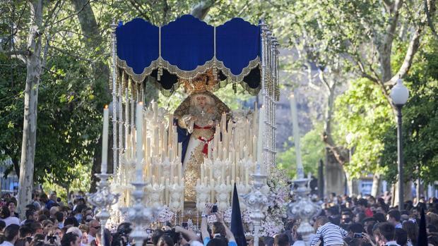 Virgen de la Estrella un Lunes Santo