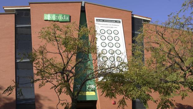 Sede de la agencia Extenda en Sevilla