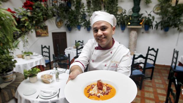 Salmorejo en Taberna Restaurante Puerta Sevilla