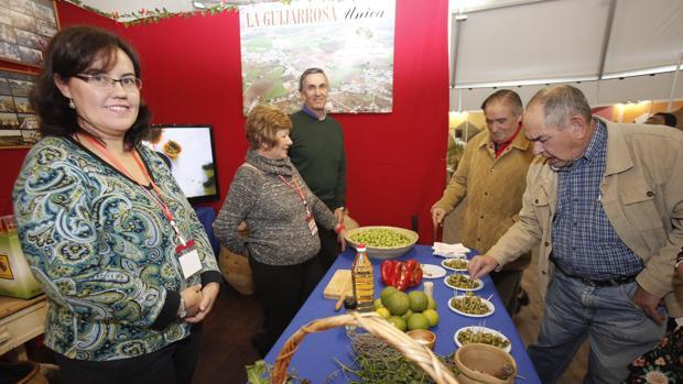 La oferta de La Guijarrosa con sus aceitunas «partías» de su Feria de octubre