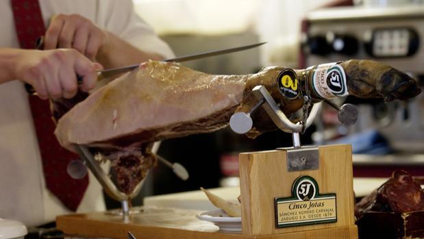 El jamón de Jabugo se ha convertido en un producto gurmet
