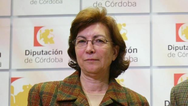 Zafra en su etapa como vicepresidenta de la Diputación