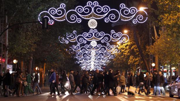 Alumbrado navideño de Córdoba, que realiza Iluminaciones Ximénez