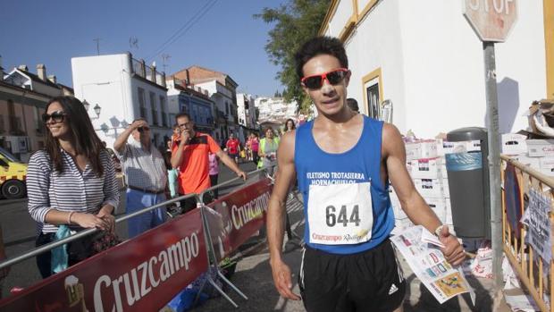 Ángel Muñoz, el vencedor de la prueba