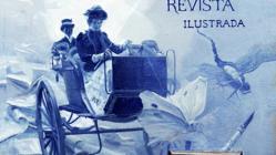 Detalle central de la primera portada de Blanco y Negro