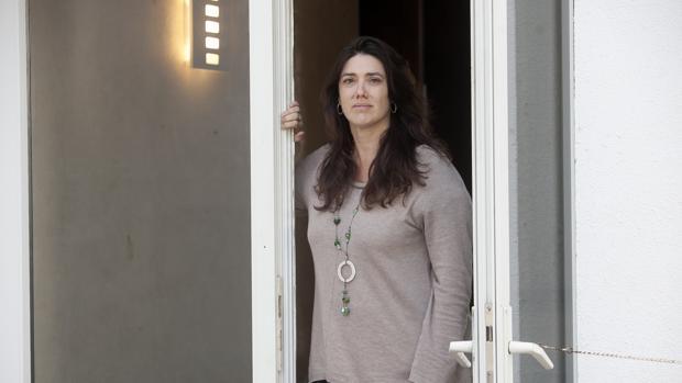 Teresa Pérez durante su entrevista para ABC