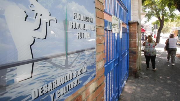 Fachada de la Fundación Guadalquivir Futuro