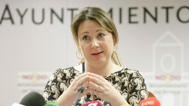 La portavoz de la plataforma, Nieves Hernández, en una imagen de archivo