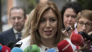 Susana Díaz, sobre las primarias: «Vísteme despacio que tengo prisa»